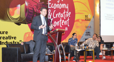 CCP at the Digital Economy & Creative Content Forum in Jakarta