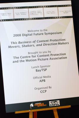 Digital Future Symposium 2008